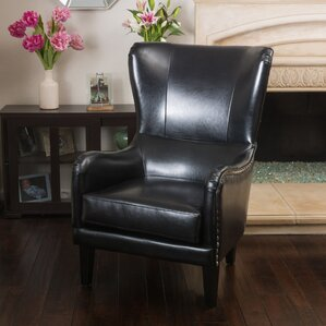 Full Sail High Back Wingback Chair by Red Ba..