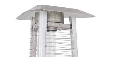 Commercial Glass Tube 38,000 BTU Propane Patio Heater