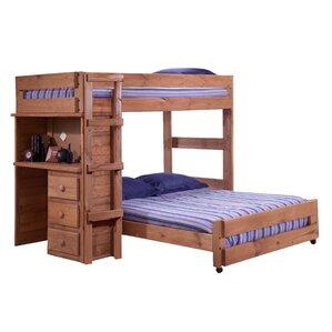 Offset Bunk Beds l-shaped bunk beds you'll love | wayfair