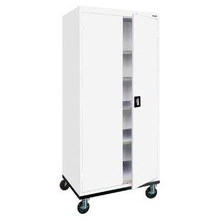 Tall White Storage Cabinet Wayfair
