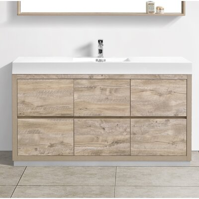 Wade Logan Tenafly Single Bathroom Vanity Set Reviews Wayfair - Bathroom vanities ocala fl