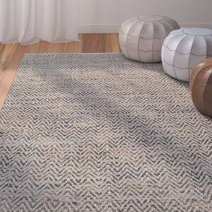 Kaly Natural Hand-Loomed Brown Area Rug