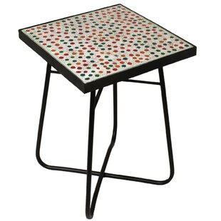 color mosaic end table - Colored End Tables