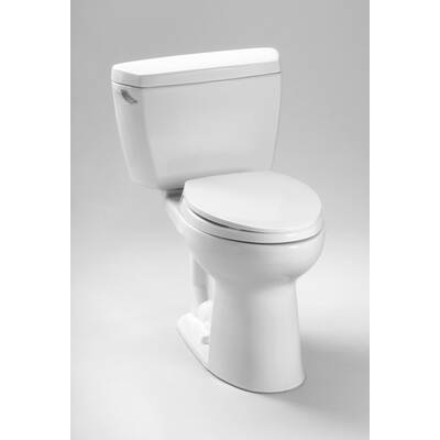 Drake Eco 1 28 Gpf Elongated Two Piece Toilet Seat Not Included