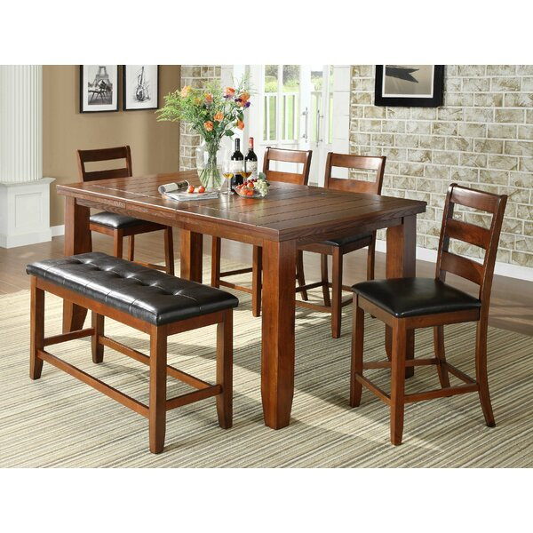 Loon Peak Bridlewood  Piece Counter Height Dining Set  Reviews