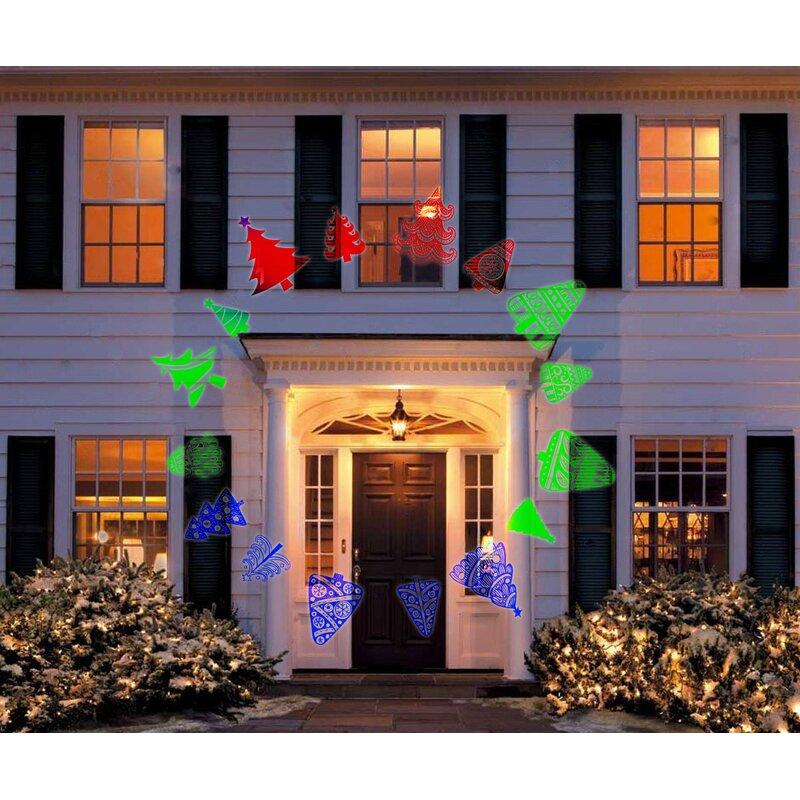 Hologram Christmas Tree Projector.3 Light Christmas Tree Led Projector Lights