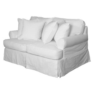 Coral Gables Slipcovered Loveseat by Beachcr..