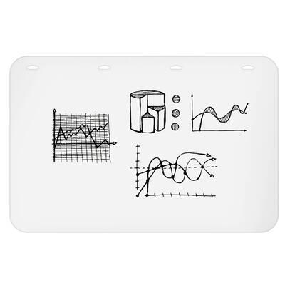 Thorntons Office Supplies Magnetic Tripod Flip Whiteboard 39 X 27