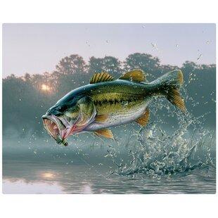 Magic Slice Non-Slip Flexible Gourmet 12 x 15 Fishing Lures Cutting Board by Giordano Studios