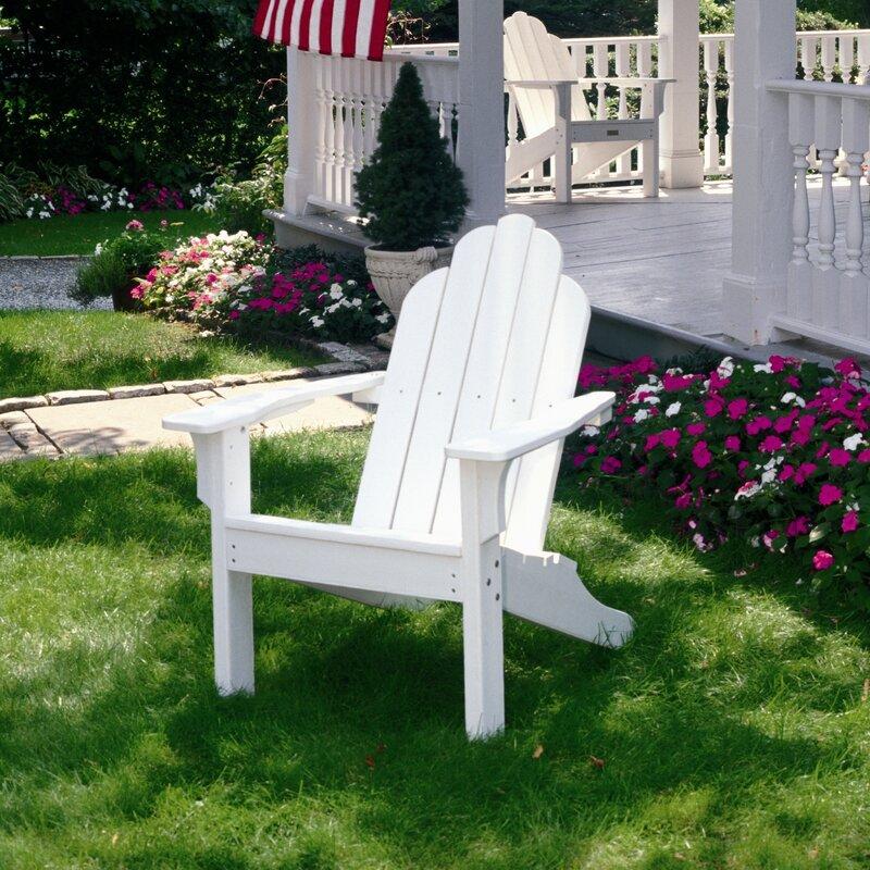 Classic Plastic Adirondack Chair