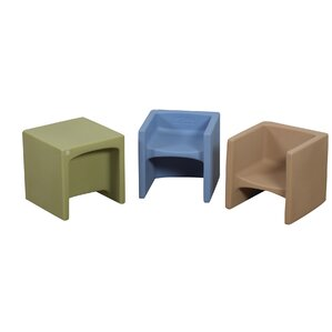Cozy Woodland Cube Chair by Children's Factory