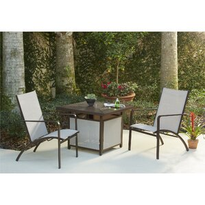 Briarcliff 3 Piece Fire Pit Seating Group
