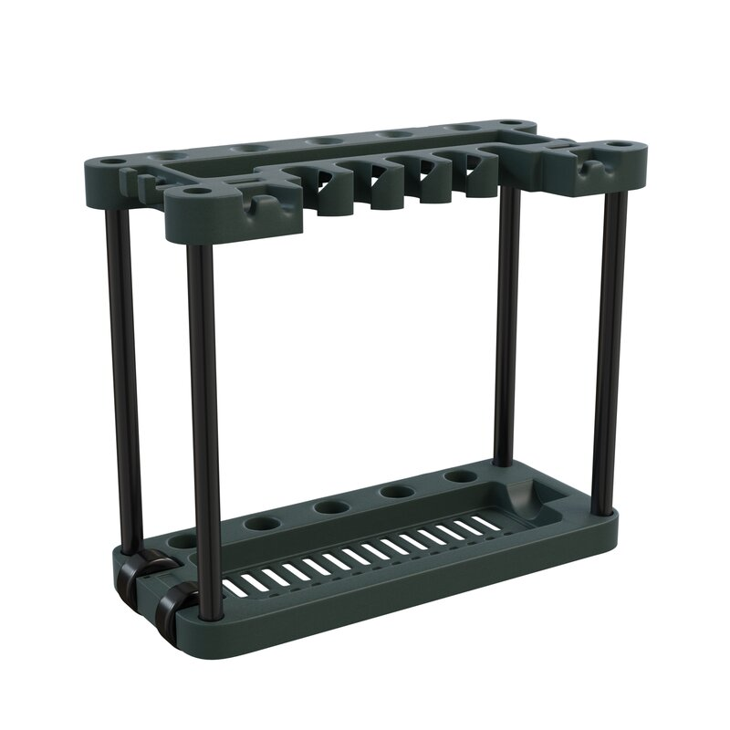 Stalwart Rolling Garden Tool Rack Amp Reviews Wayfair