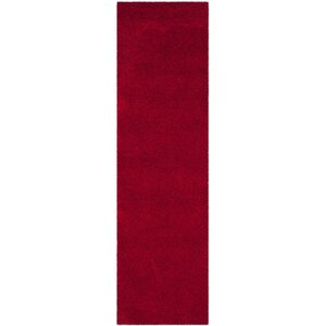 Wickline Red Area Rug