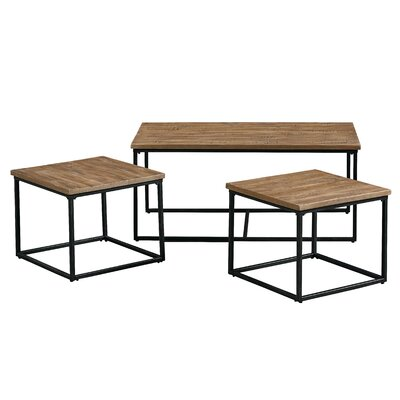 Ridgewood 3 Piece Coffee Table Set