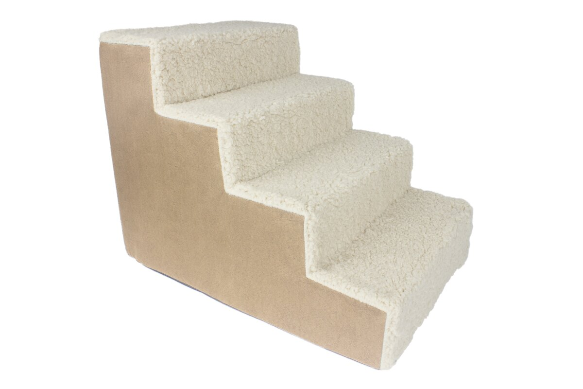 Portable 4 Step Pet Stairs