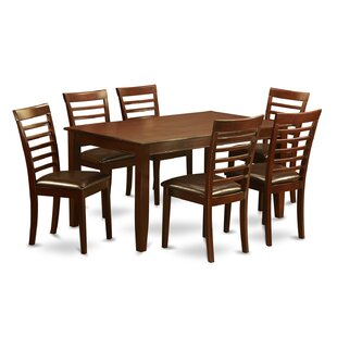 Dudley 7 Piece Solid Wood Dining Set