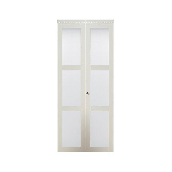 Erias Home Designs Baldarassario Panel MDF Bi Fold Interior Door U0026 Reviews  | Wayfair