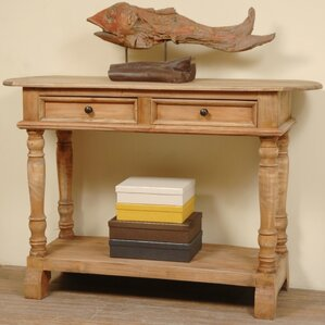 Minneola Cottage Wood Console Table