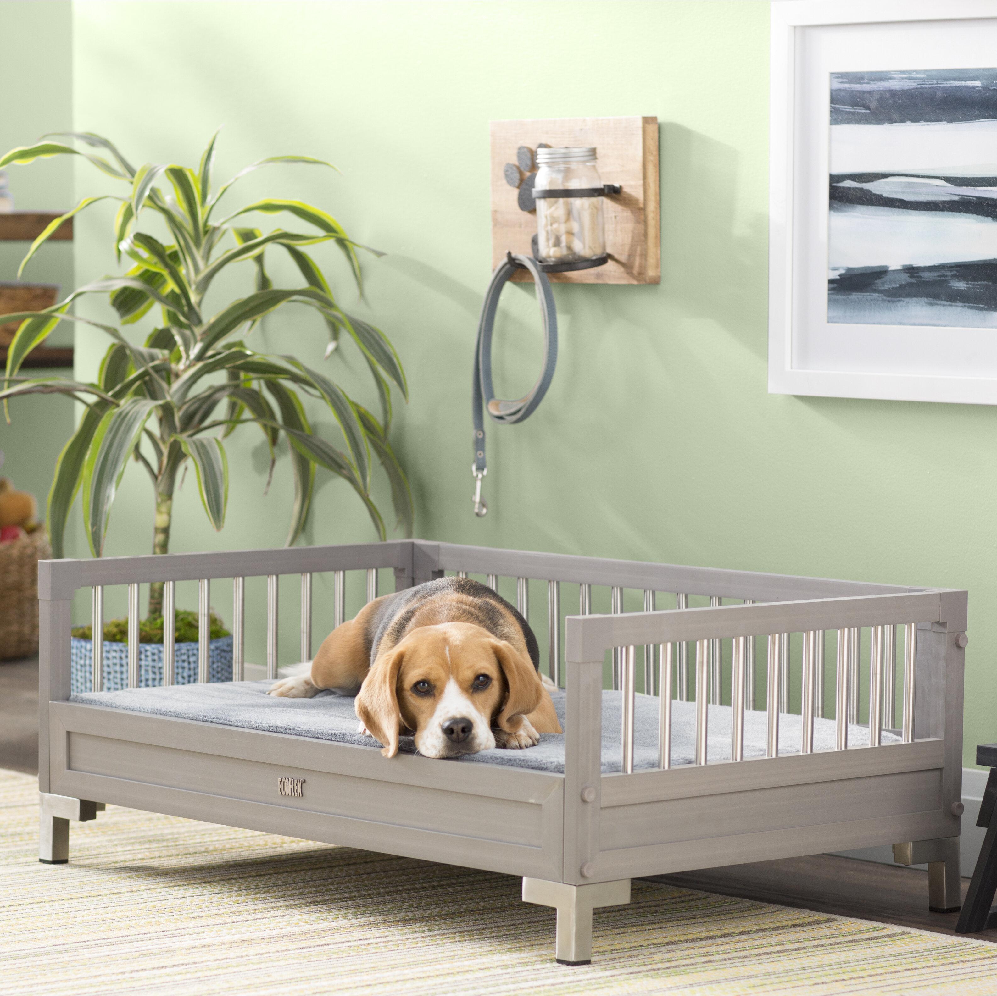 Archie Oscar Dustin Ecoflex Dog Sofa With Memory Foam Cushion Reviews Wayfair