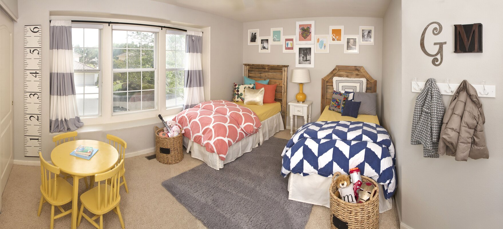 Modern Rustic Kids Bedroom Design Photo By Fallon Filice Interiors