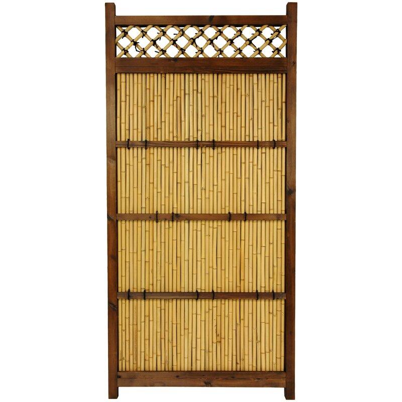 Superieur W Japanese Zen Garden Fence Panel