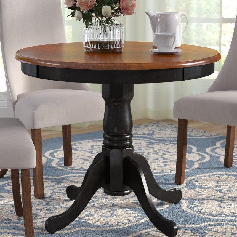 Three Posts Woodward Dining Table Amp Reviews Wayfair