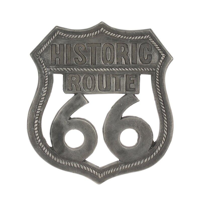 Williston Forge Route 66 Wall Decor Wayfair