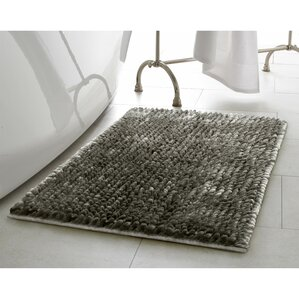 butter chenille bath rug