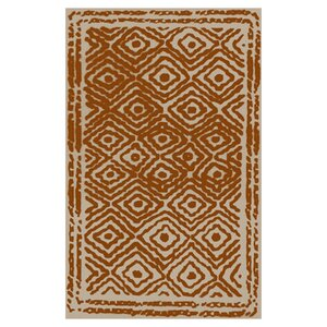 Sala Burnt Orange/Beige Area Rug