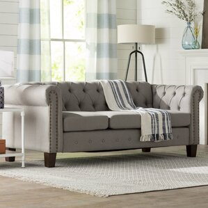 Trevino  Chesterfield Sofa by Three Posts