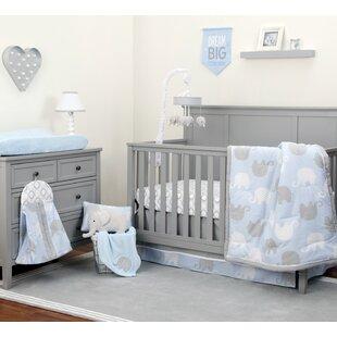 Viaan 8 Piece Crib Bedding Set