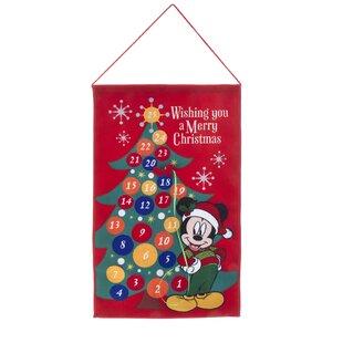 mickey fabric advent calendar