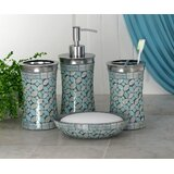 Phenomenal Sea Glass Bathroom Accessories Wayfair Beutiful Home Inspiration Xortanetmahrainfo