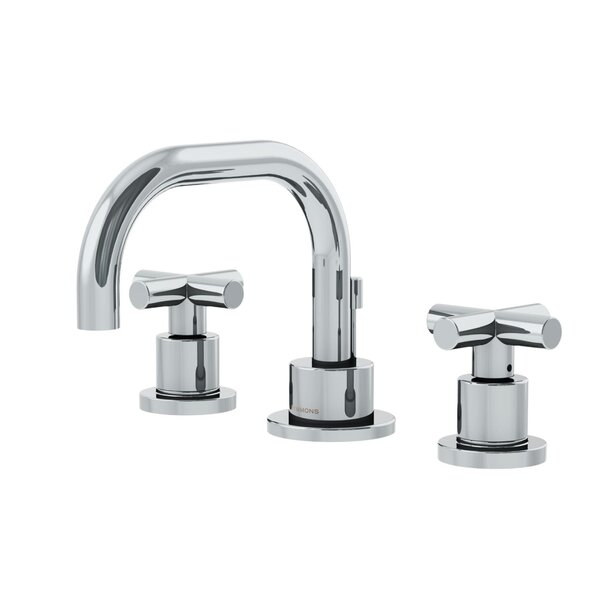 Symmons Dia Low Spout Widespread Standard Bathroom Faucet Double ...