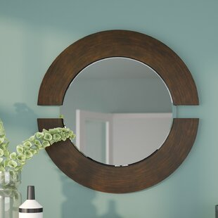 2c8cb4d95b07 Round Mirror Wood Trim