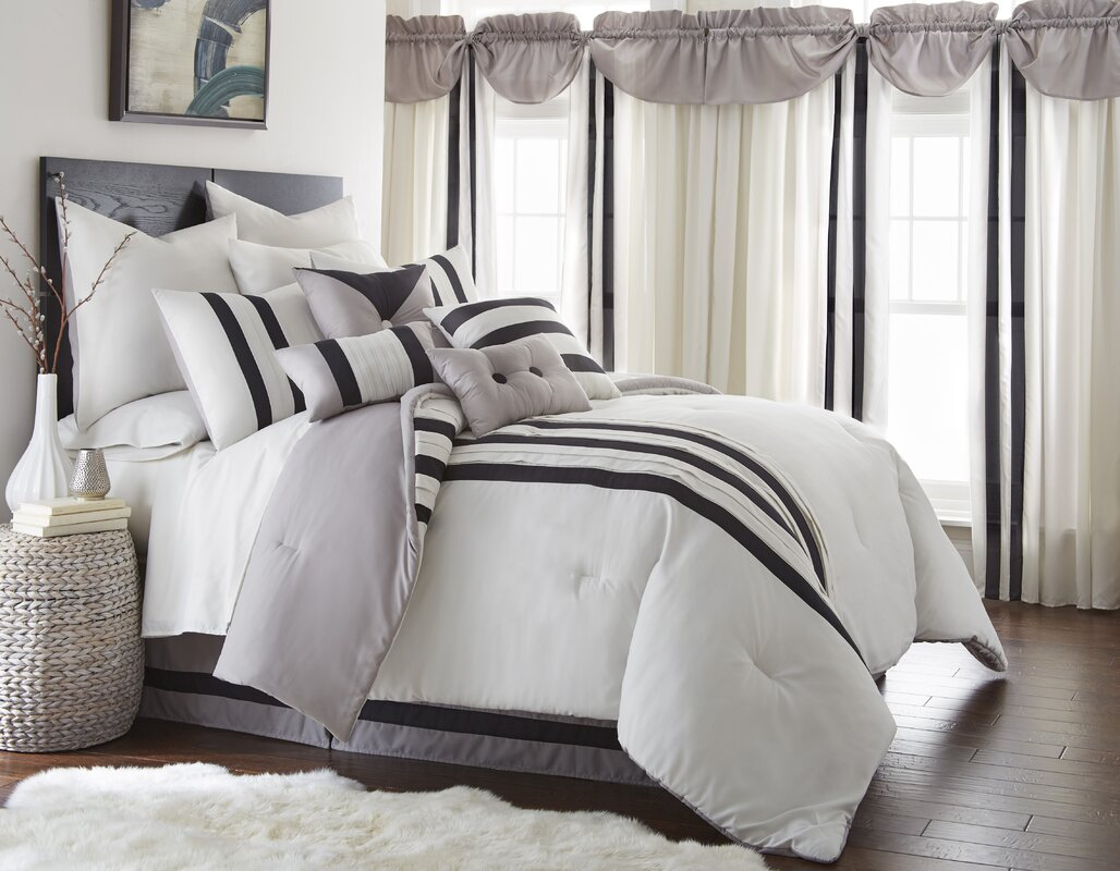Durant 24 Piece Comforter Set & Darby Home Co Durant 24 Piece Comforter Set u0026 Reviews | Wayfair