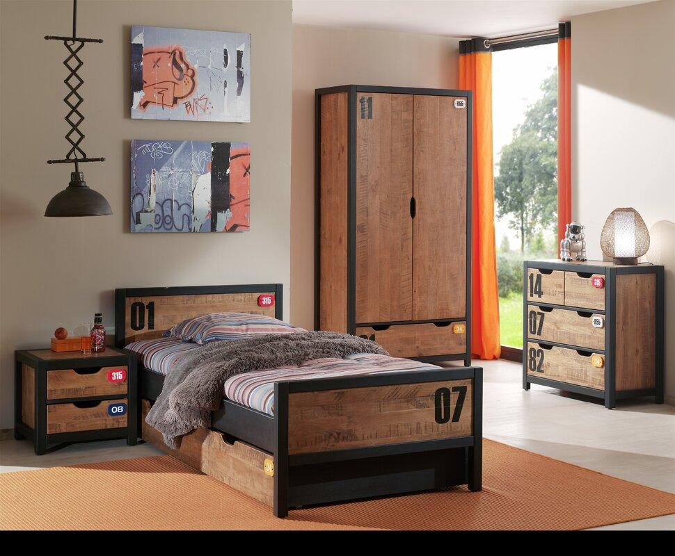 vipack 4 tlg schlafzimmer set alex bewertungen. Black Bedroom Furniture Sets. Home Design Ideas