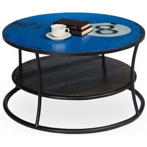 Eight Ball Coffee Table by Sarreid Ltd