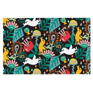 Agnes Schugardt 'Folk Fusion' Abstract Doormat