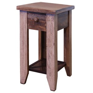 Lake Forest Antique Chairside End Table by Loon Peak