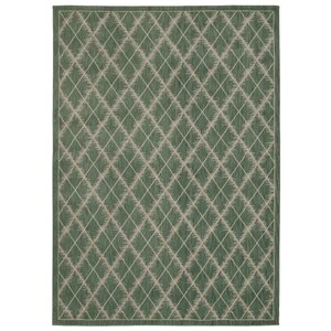 Galsworthy Light Green Area Rug