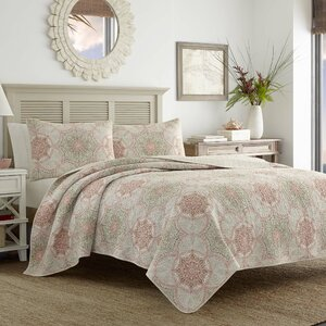 Palm Channel Reversible Quilt Set by Tommy Bahama Bedding