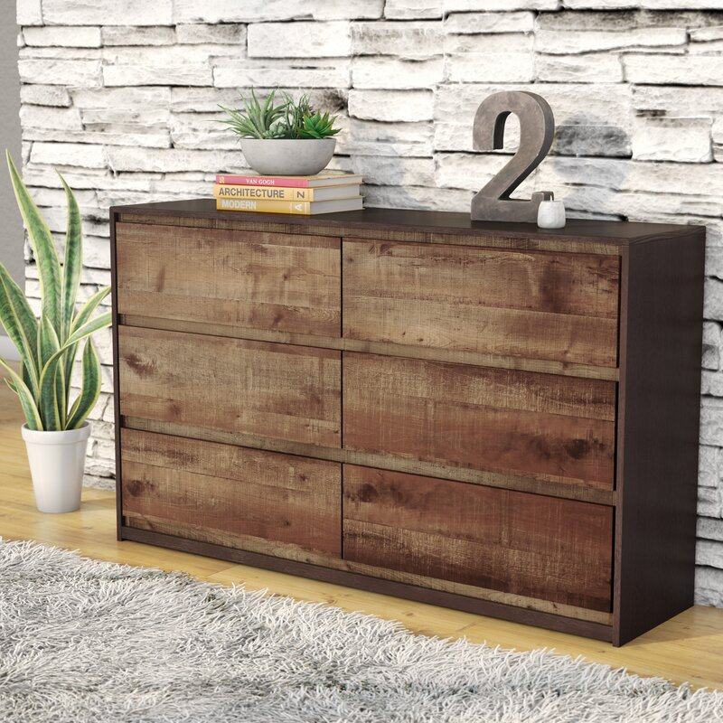 Taumsauk 6 Drawer Dresser