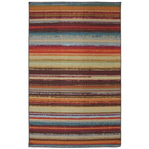 Rena Hand-Tufted Brown/Orange Indoor/Outdoor Area Rug