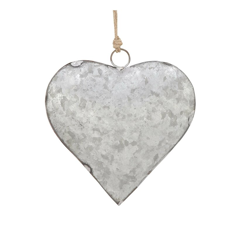 Cole & Grey 3 Piece Metal Heart Wall Décor Set & Reviews | Wayfair