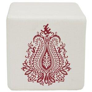 Ivy Tulip Cube Ottoman by Safavieh