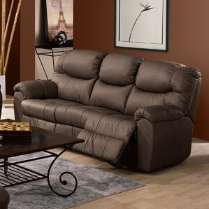 Regent Leather Reclining Sofa by Palliser Furniture