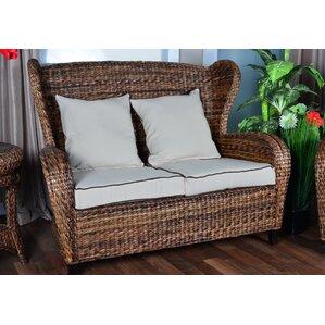 Indoor Rattan Sofa | Wayfair