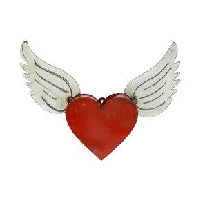 Heart Wing Wall Decor Wayfair